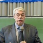 Выступление и.о.ректора Евгения Апполонова