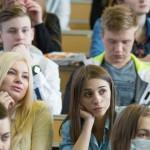 Студенты СПбГМТУ внимательно слушали