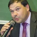 Проректор Алексей Кротов докладывает о проделанной работе